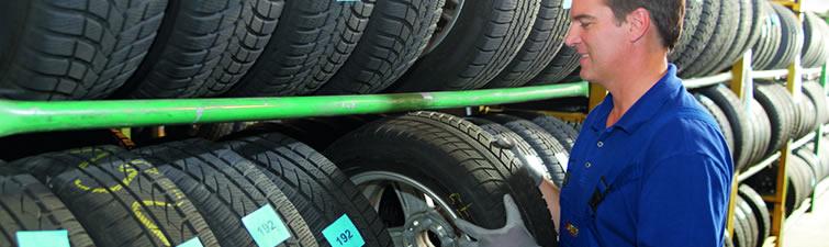 Mimosezónne uskladnenie pneumatík